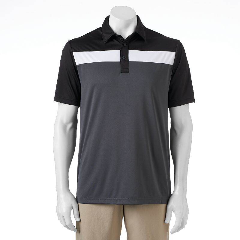 C-BUK by Cutter & Buck Classic-Fit Colorblock Performance Polo - Men
