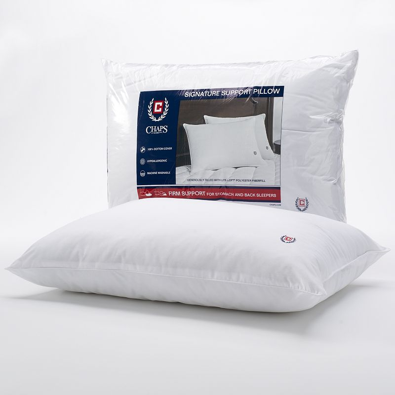 Chaps Signature Firm Density Pillow - Standard / Queen