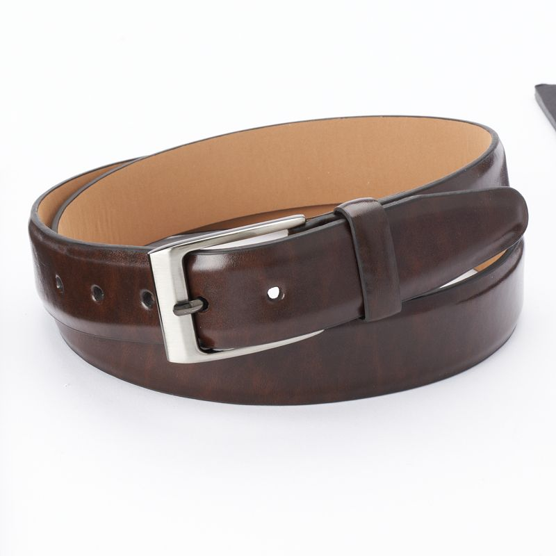 Dockers® Logo Ornament Brown Belt - Men