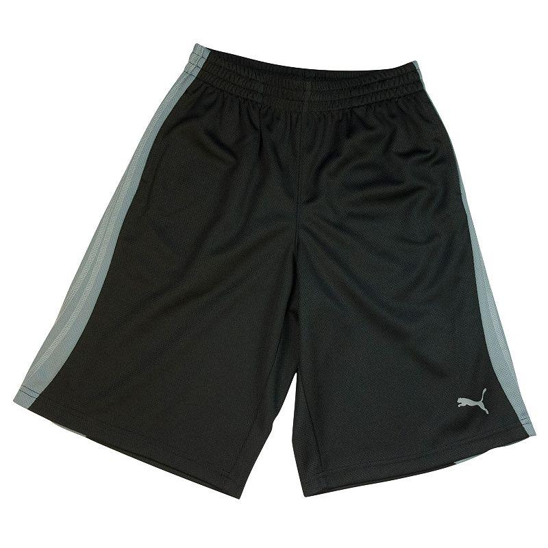 Boys 4-7 PUMA Striped Mesh Shorts