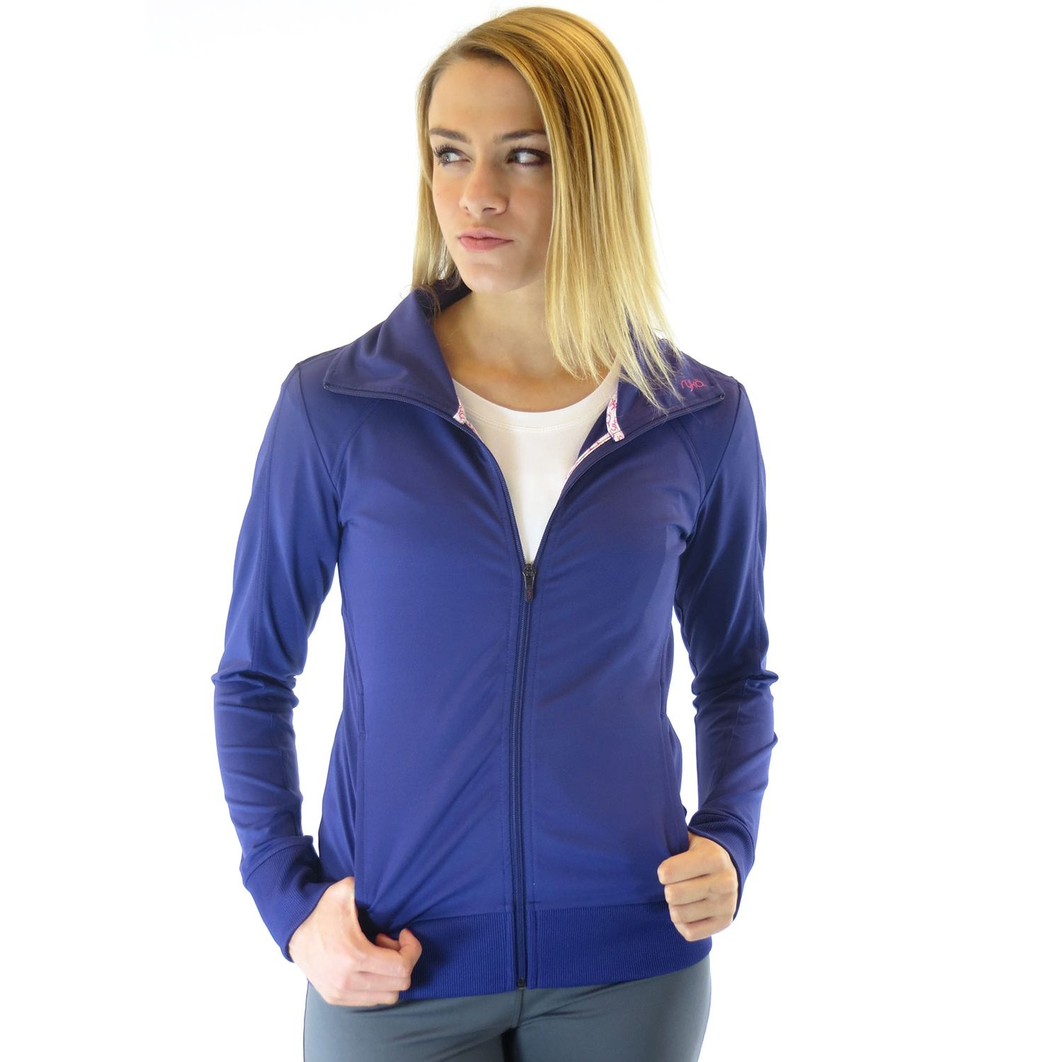 Womens Ryka Essential Raglan Workout Jacket