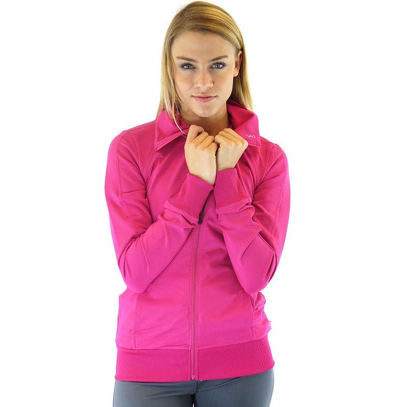 Plus Size Ryka Essential Raglan Workout Jacket
