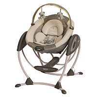 Graco Glider LX Portable Gliding Baby Swing
