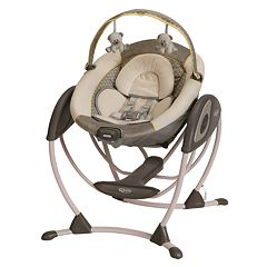 Graco Glider LX Portable Gliding Baby Swing by