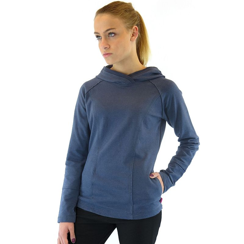 Plus Size Ryka Stretch French Terry Raglan Hoodie