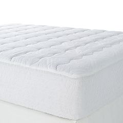 Click here to buy Beautyrest Double Support Deep-Pocket Mattress Pad .