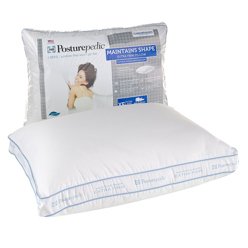 Sealy Posturepedic 300-Thread Count Maintains Shape Extra-Firm Pillow