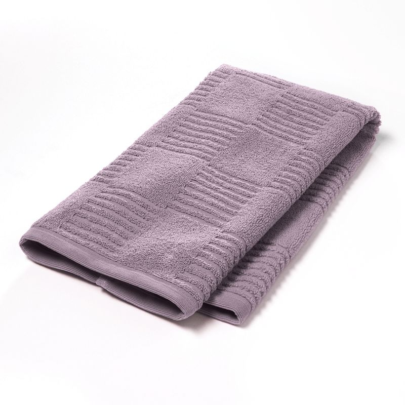 Simply Vera Vera Wang Tile Texture Hand Towel