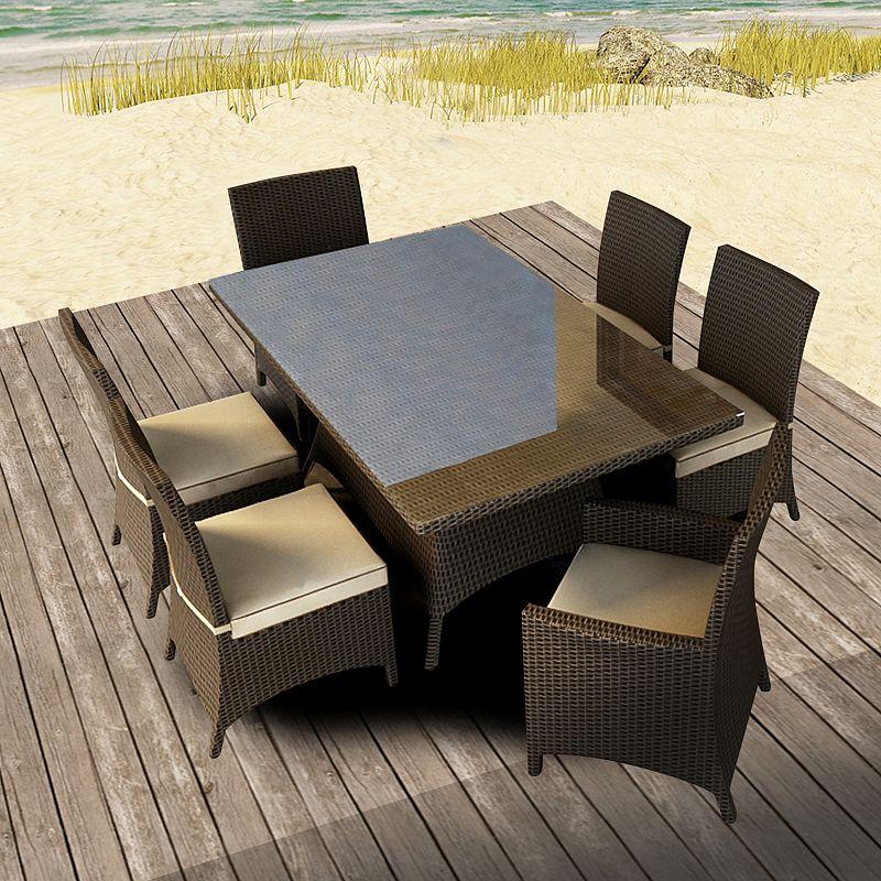 Terrazza Patio Meridian 7-piece Patio Dining Set