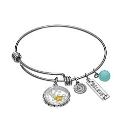 love this life Amazonite & Crystal Stainless Steel & Silver-Plated '\