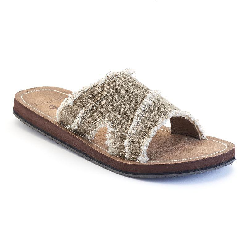 Vintage Stone Men's Slide Sandals
