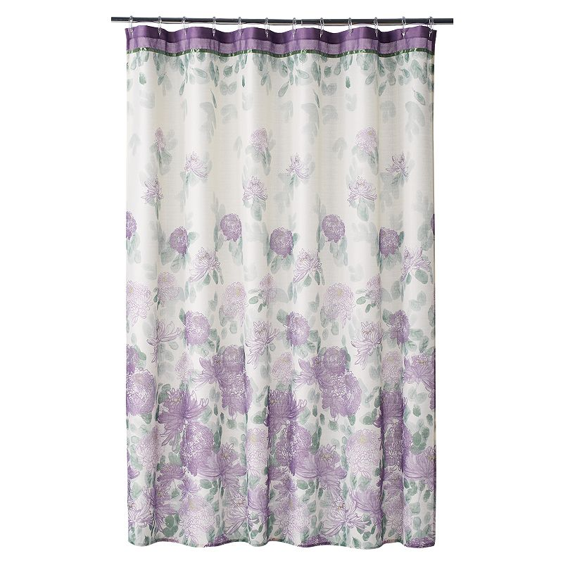 Home Classics® Francesca Fabric Shower Curtain