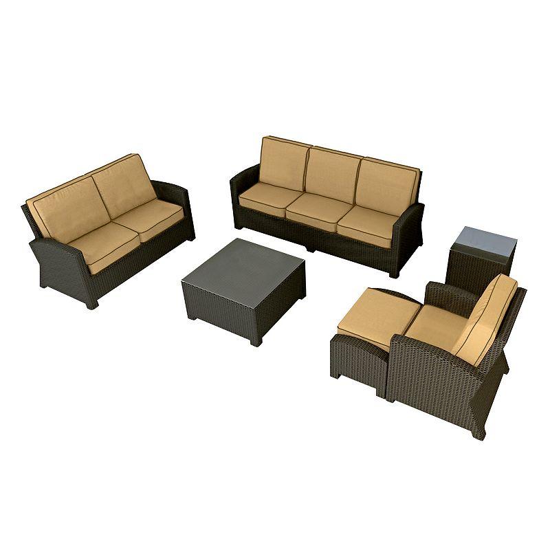 Terrazza Patio Horizon 6-piece Patio Sofa Set