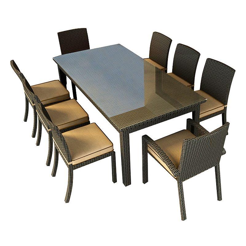 Terrazza Patio Horizon 9-piece Rectangular Patio Dining Set