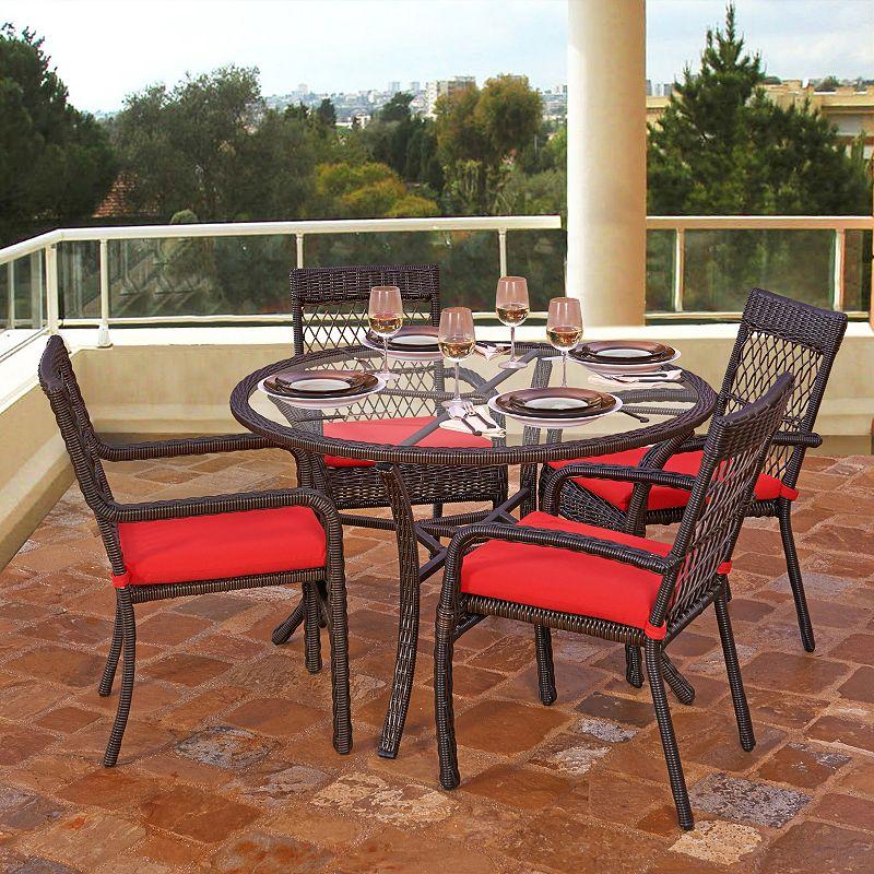 Terrazza Patio Telluride 5-piece Patio Dining Set