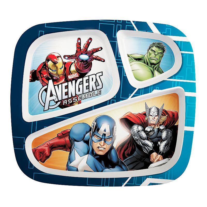 Marvel Avengers Assemble Divided Plate
