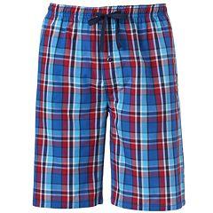 Men's Hanes Classics 2-pack Plaid Woven Jams Shorts