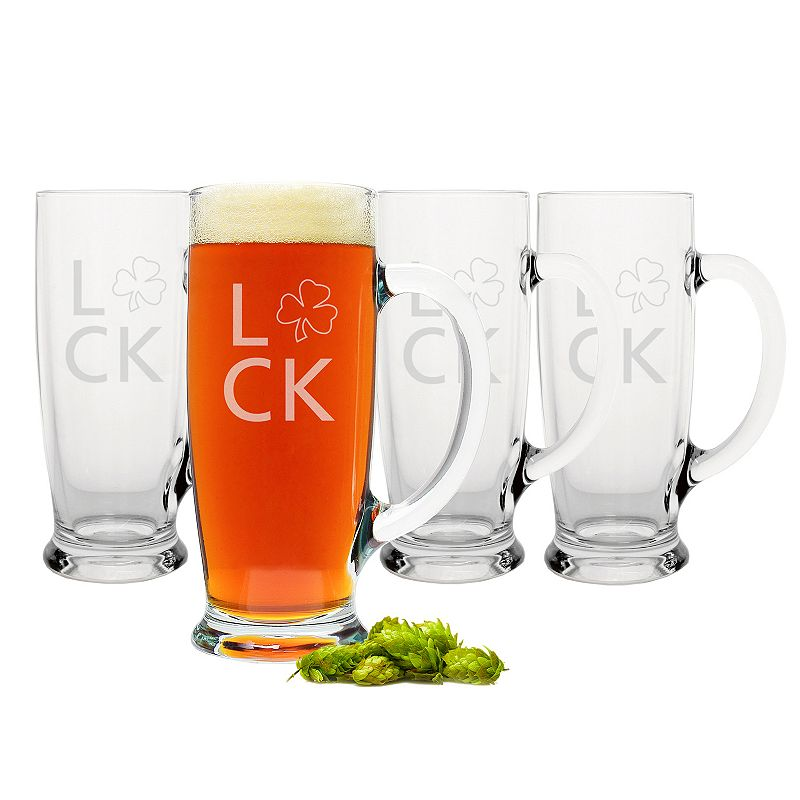 Cathy's Concepts St. Patrick's Day 4-pc. Craft Beer Mug Set