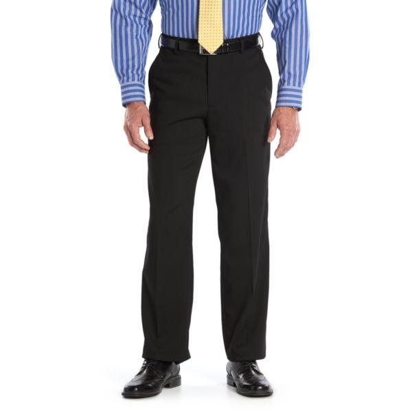 Men's Van Heusen Premium Straight-Fit No-Iron Flat-Front Dress Pants