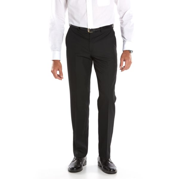 Men's Van Heusen Premium Straight-Fit Striped No-Iron Flat-Front Dress Pants