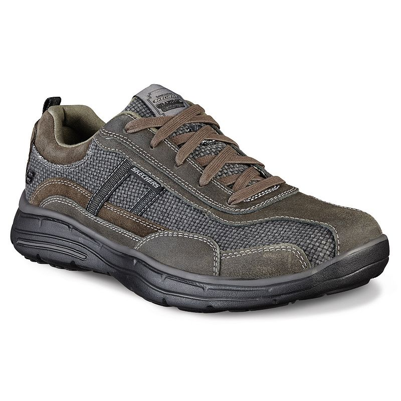 Skechers Relaxed Fit Glides Status Men's Casual Shoes