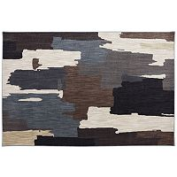 American Rug Craftsmen Dryden Oak Park SmartStrand Abstract Rug