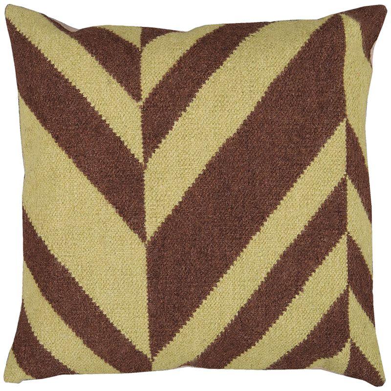 Decor 140 Lyss Lima Bean Decorative Pillow - 18'' x 18''