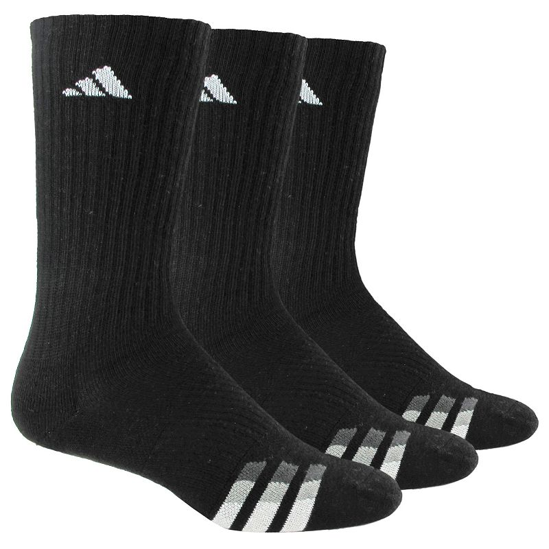 Men's adidas 3-Pack Cushioned Crew Socks