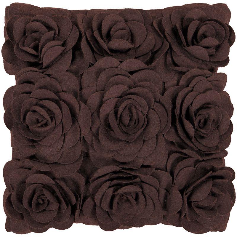 Artisan Brown Weaver Nyon Decorative Pillow - 18'' x 18''