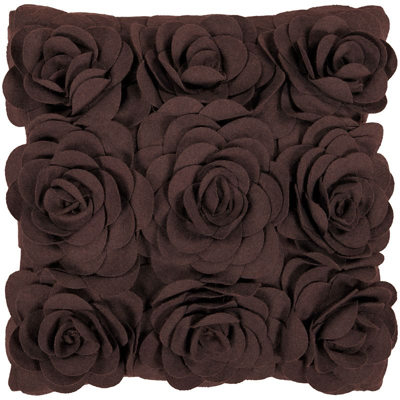 Decor 140 Nyon Brown Decorative Pillow - 22'' x 22''