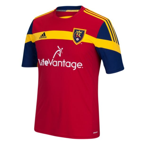 Men's adidas Real Salt Lake Wordmark MLS Jersey