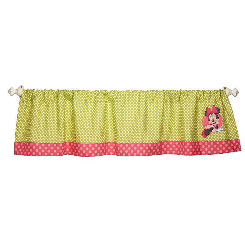 Disney Baby Minnie Mouse Petals Perfect Window Valance
