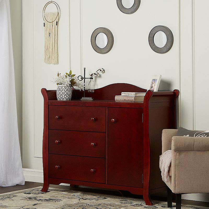 Dream On Me Back Bay 3 Drawer Combo Dresser