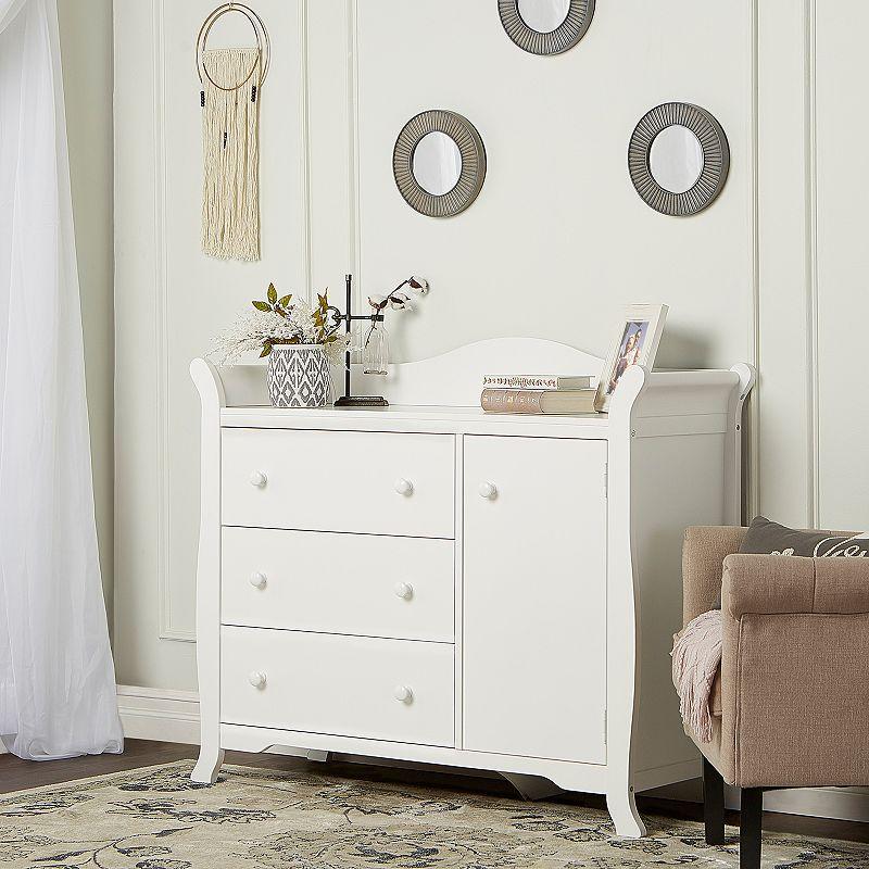 Dream On Me Back Bay 3-Drawer Combo Dresser