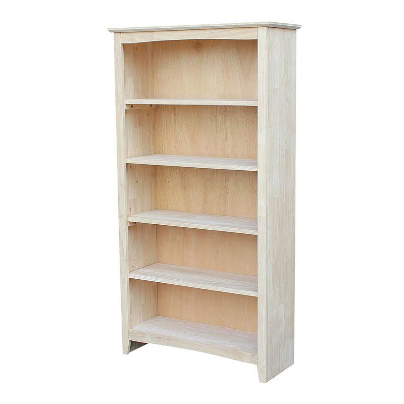 International Concepts Shaker 5-Shelf Bookcase