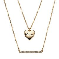 Crystal Collection Crystal 14k Gold-Plated