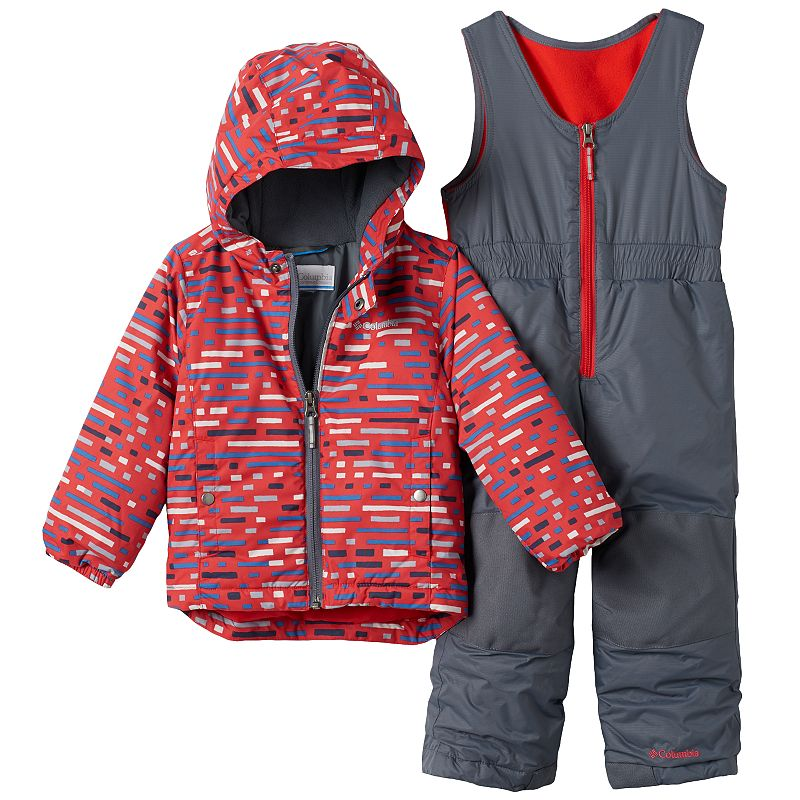 Boys 4-7 Columbia OUTGROWN Jacket & Bib Snow Pants Set