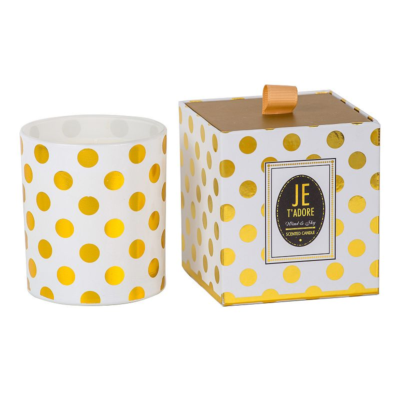 Home and Style Scents Je T'Adore Wind and Sky 9.5 oz. Candle