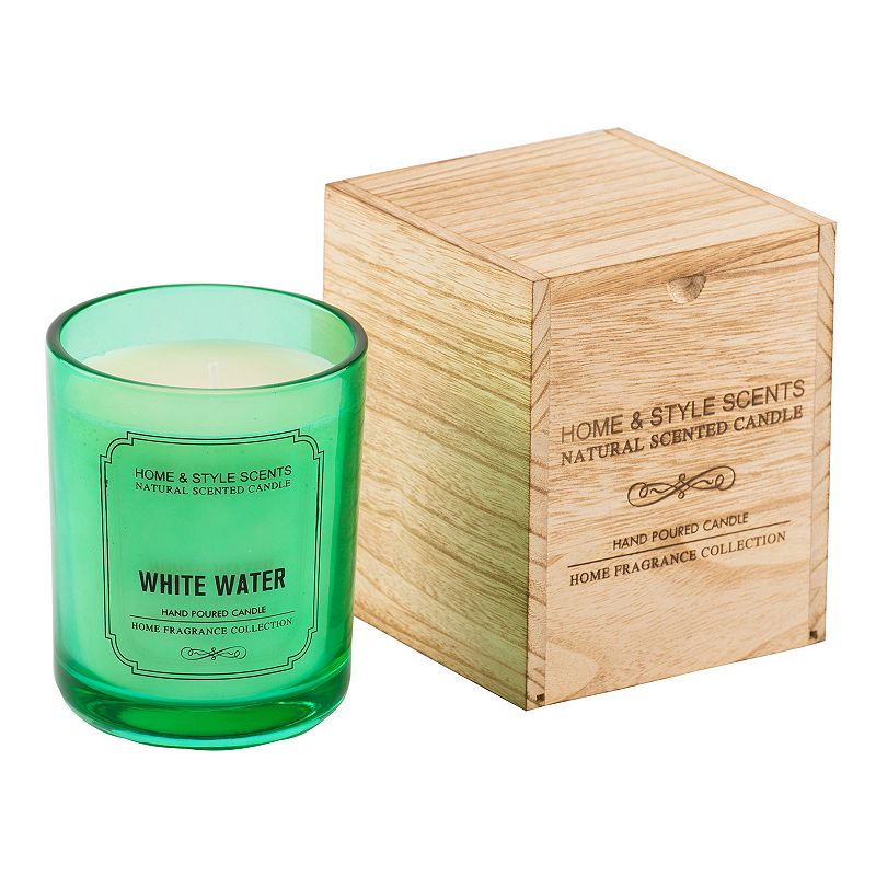 Home and Style Scents White Water 16 oz. Candle