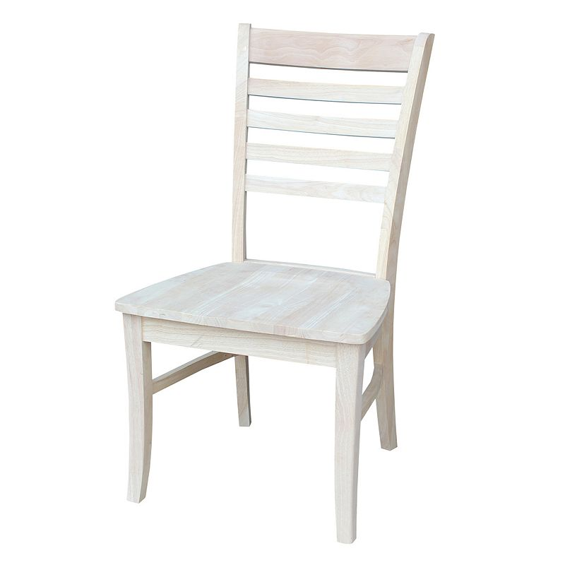 International Concepts 2-piece Roma Ladderback Chair Set