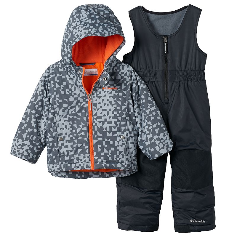 Toddler Boy Columbia OUTGROWN Jacket & Bib Snow Pants Set
