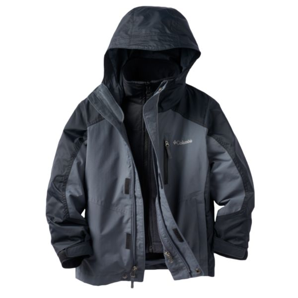 Toddler Boy Columbia OUTGROWN Blizzard Blast Systems Jacket