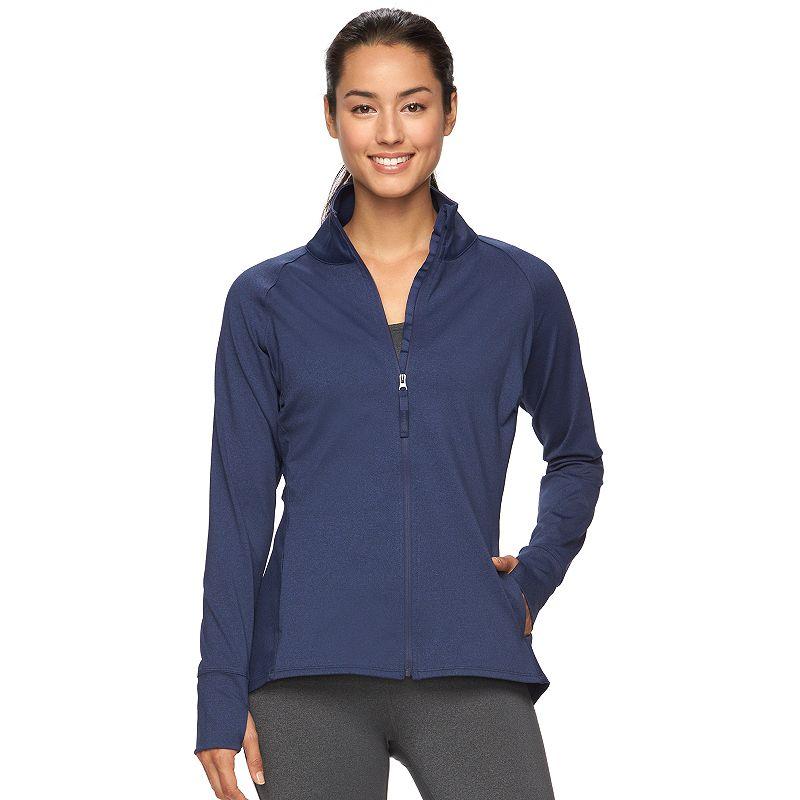 Women's Gaiam Energy Full-Zip Yoga Jacket