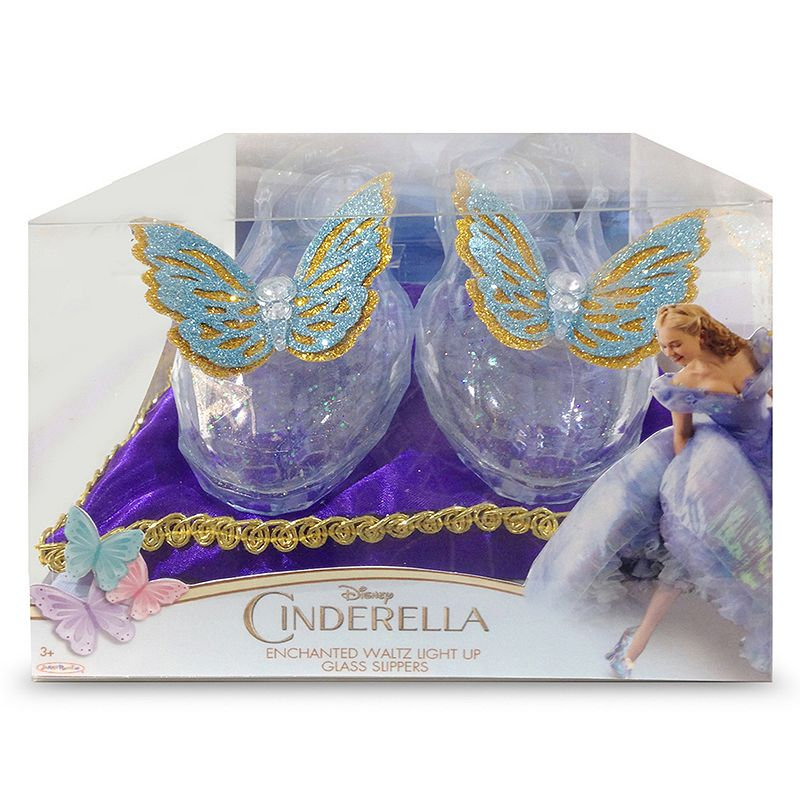 Disney's Cinderella Enchanted Waltz Light-Up Costume Glass Slippers - Toddler