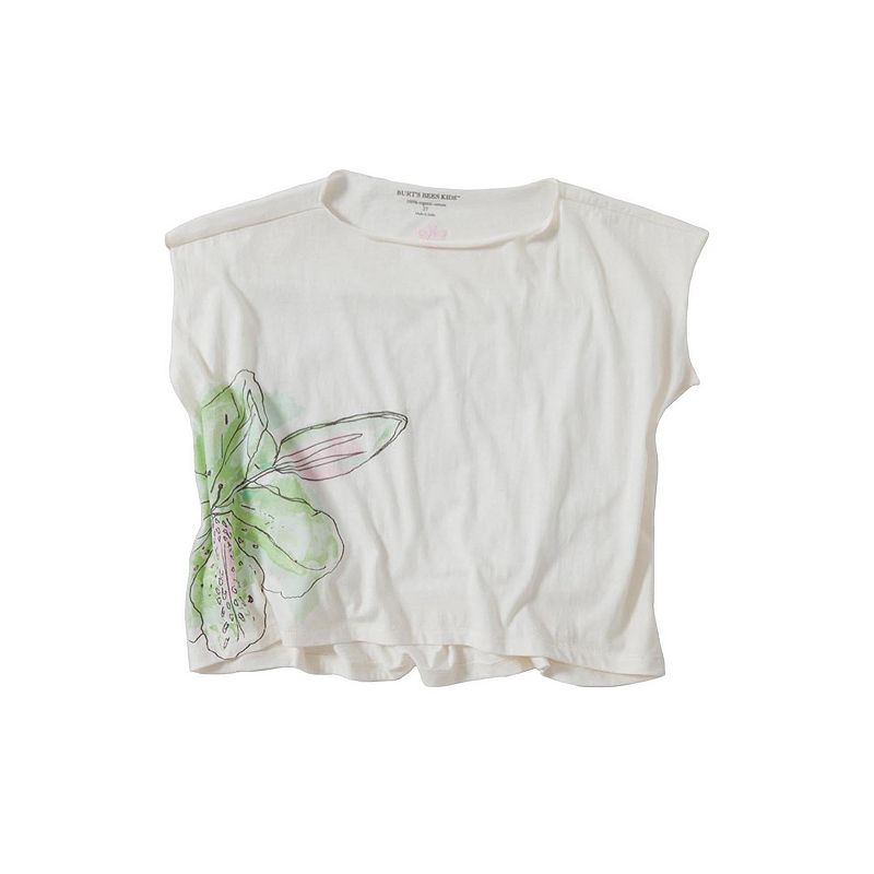 Toddler Girl Burt's Bees Baby Organic Floral Watercolor Boxy Tee