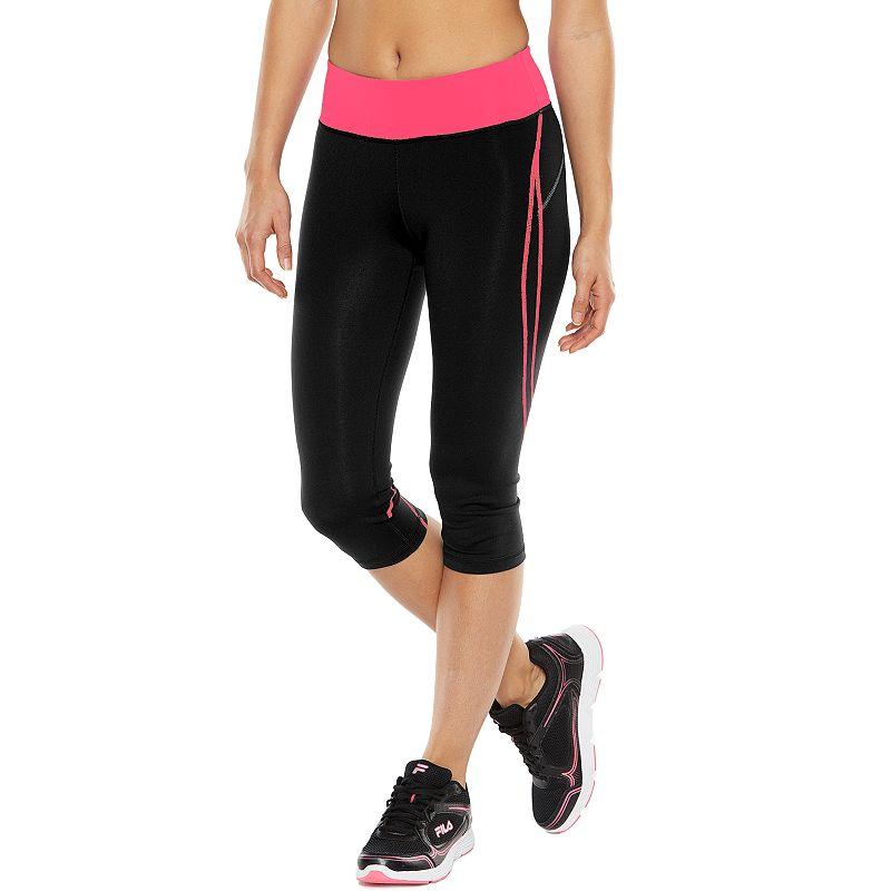 Women's Tek Gear® Pop Stitch Shapewear Skimmer Yoga Capris