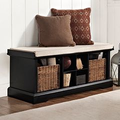 Crosley Furniture Brennan Entryway Storage Bench by