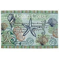 Park B. Smith Ocean Coast Tapestry 4-pc. Placemat Set