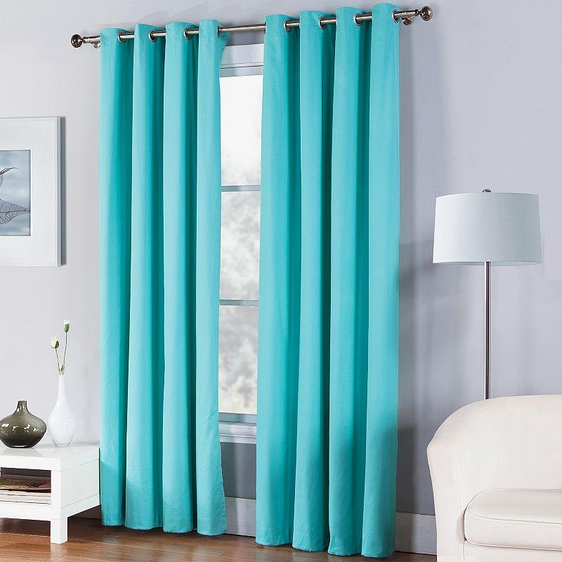Turquoise Curtains Window Treatment Kohl 39 S