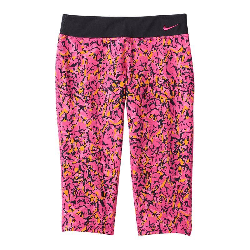 Girls 7-16 Nike Legend Tight Fit Dri-FIT Capri Leggings